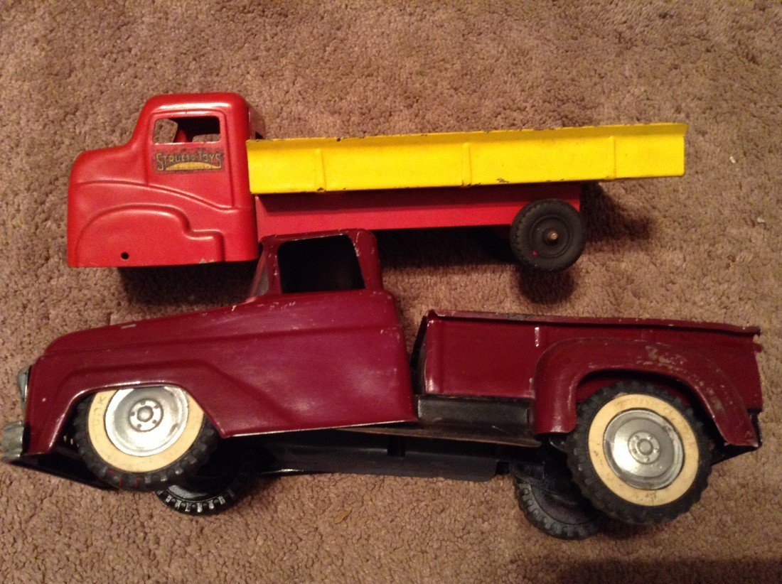 Structo Toy Truck and A Tonka Truck