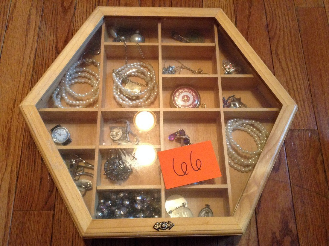 Lot of Vintage costume and some silver jewelry
