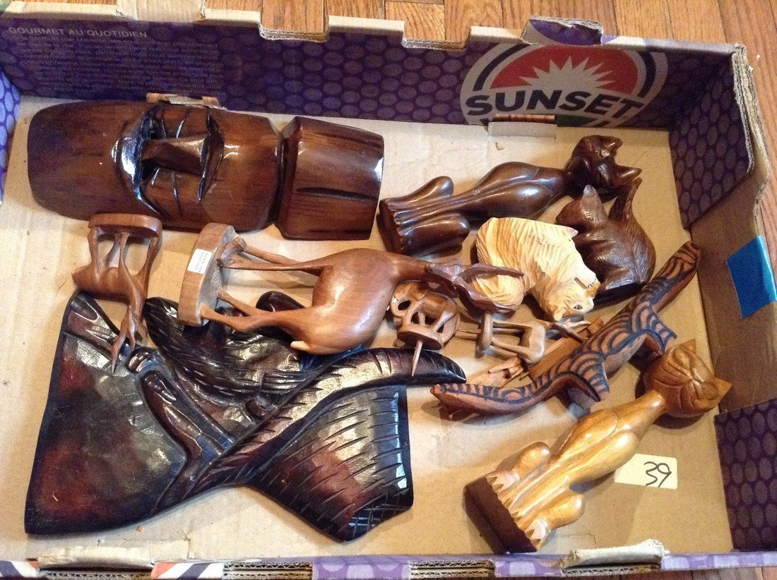 Wood hand carved art