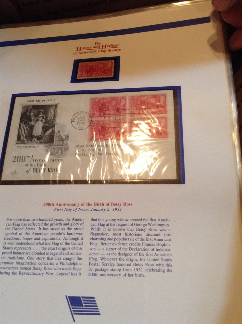 Catalogue of American Flag Stamps - 2
