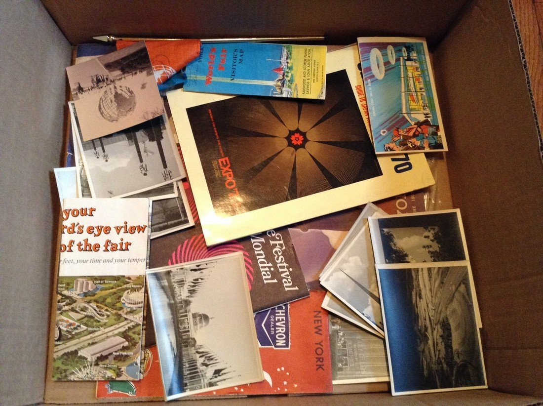 Worlds Fair photos and other items