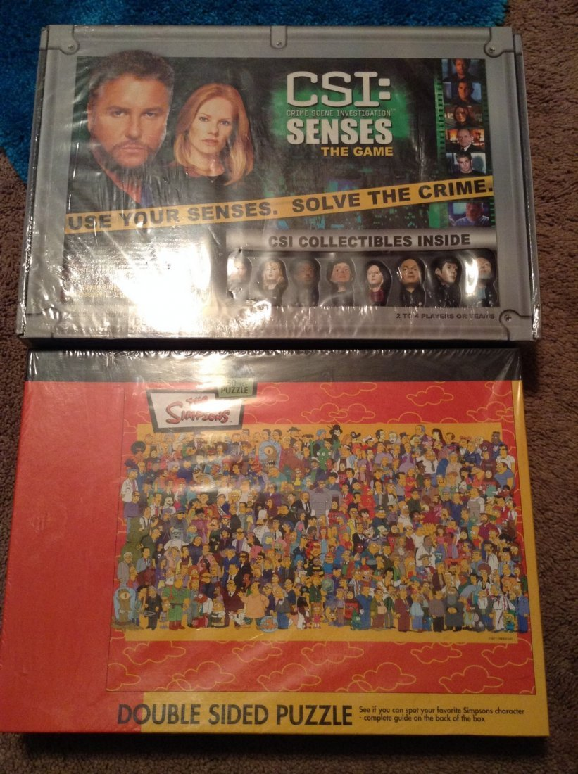 New Sealed - Simpsons and CIS