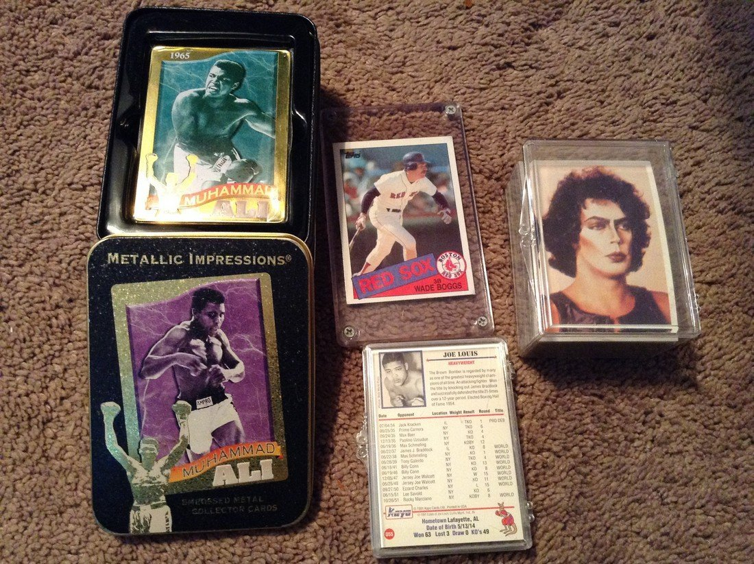 Various collector cards