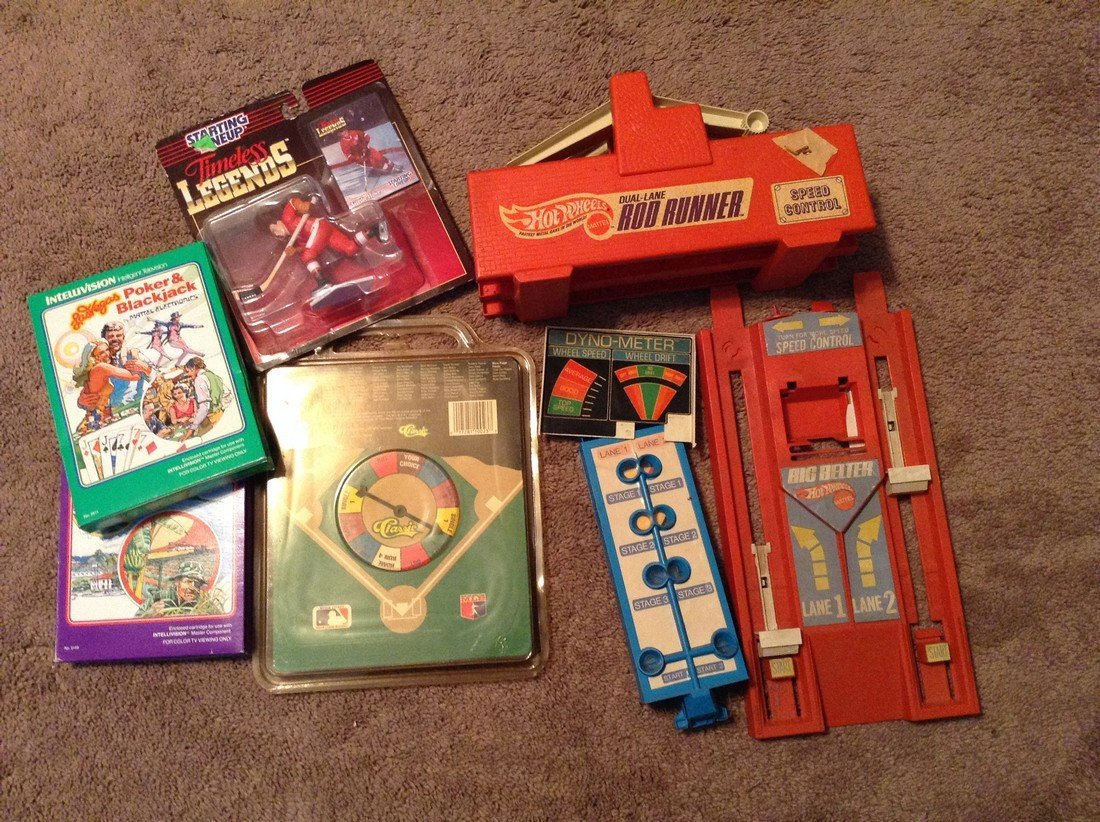 Intelivision, Red line hot wheels and sports
