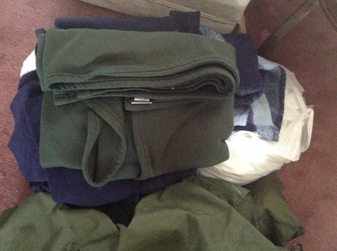 Misc Military Gear - Bags, backpacks, blankets etc.
