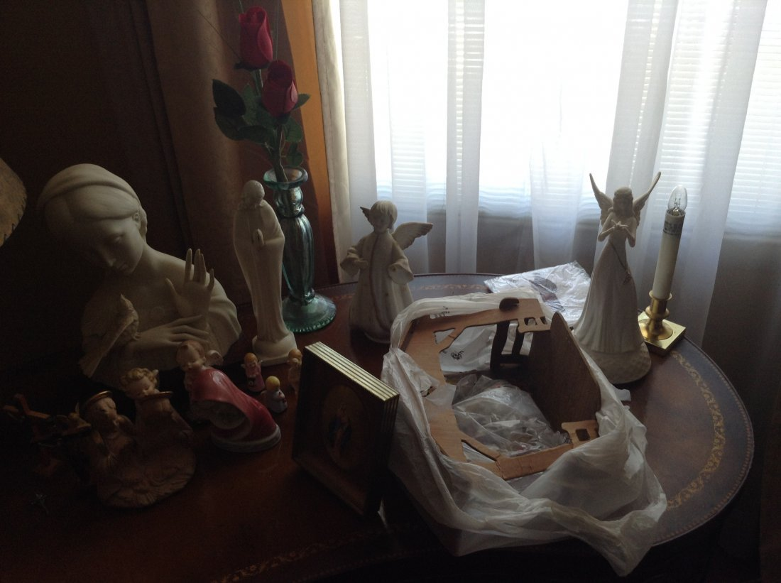 Vintage Religious Statues and Angels - 2