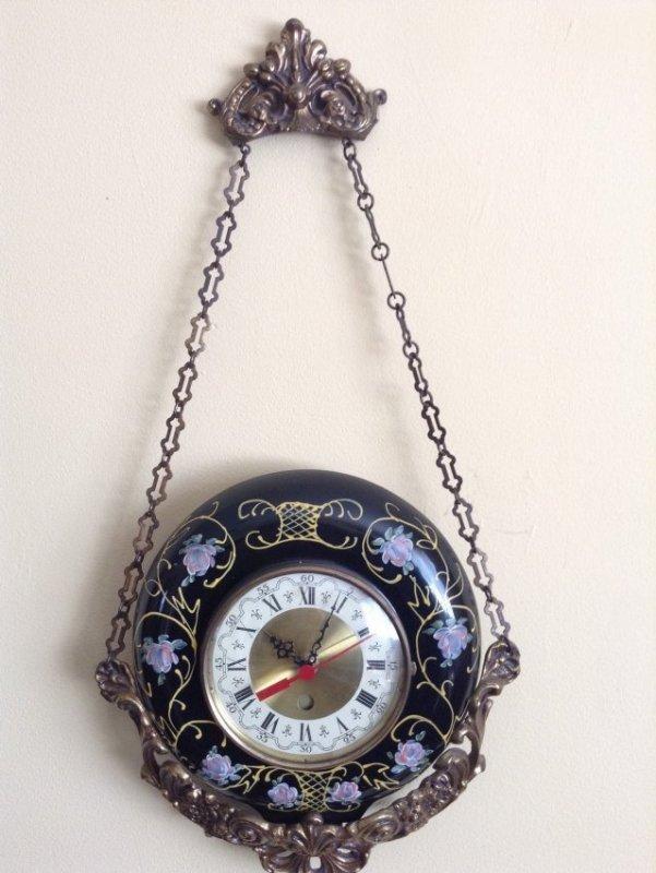 Magowan Brass Wall Hanging Clock