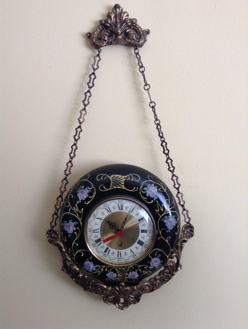 Magowan Brass Wall Hanging Clock - 2