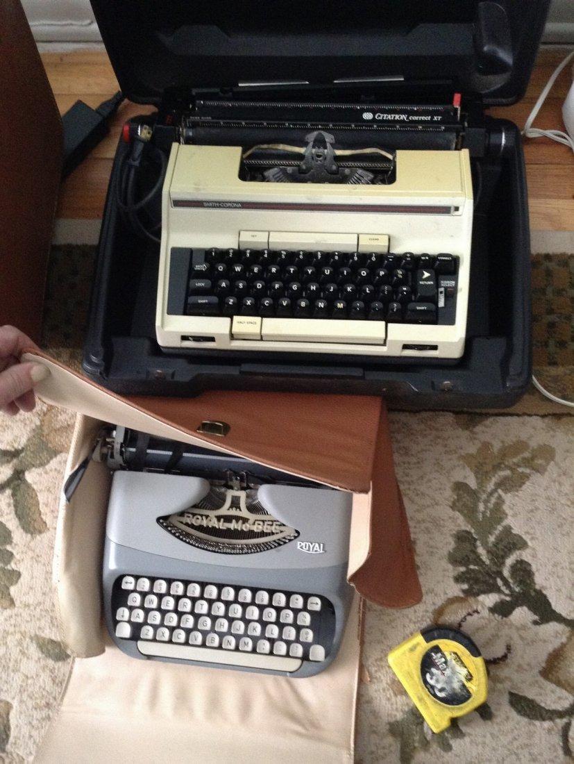 2 Vintage typewritters