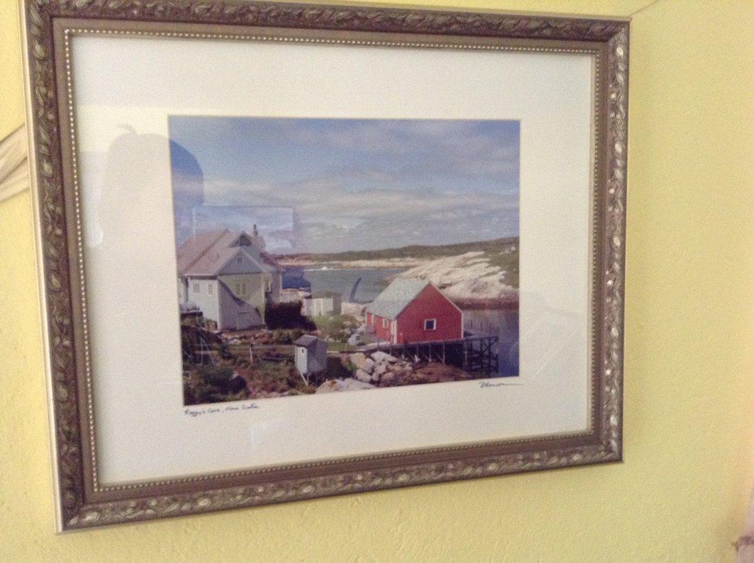 """Framed print of """"Peggy's Cove Nova Scotia"""