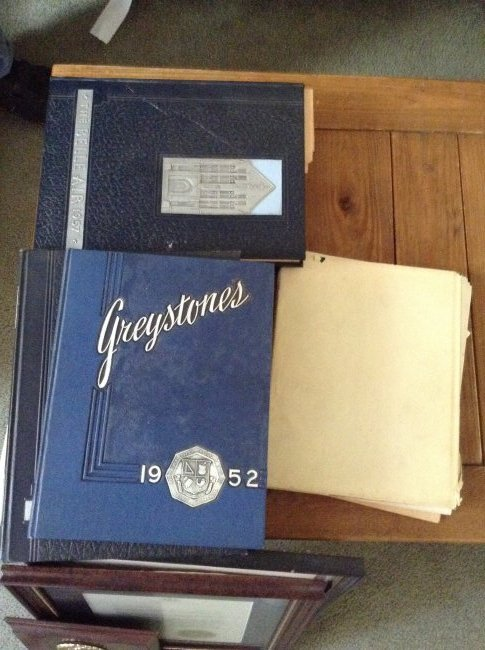 Lot of 1950's yearbooks and others