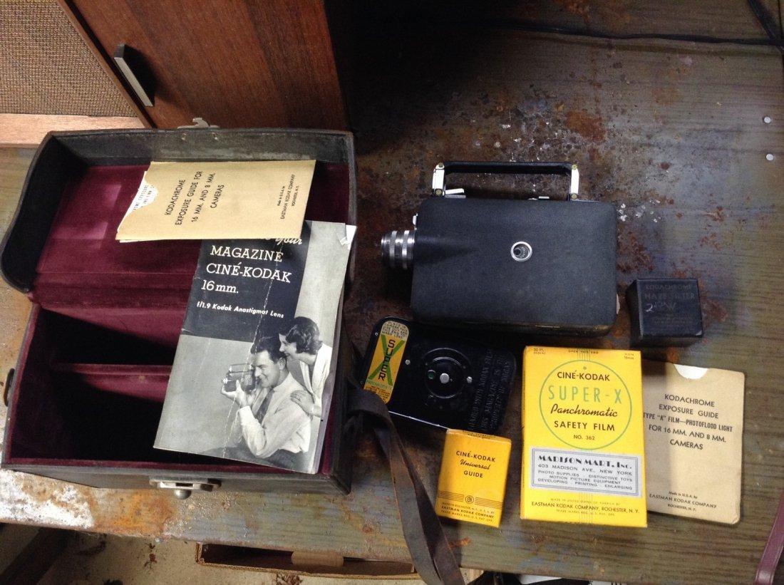 Kodak 16 mm camera
