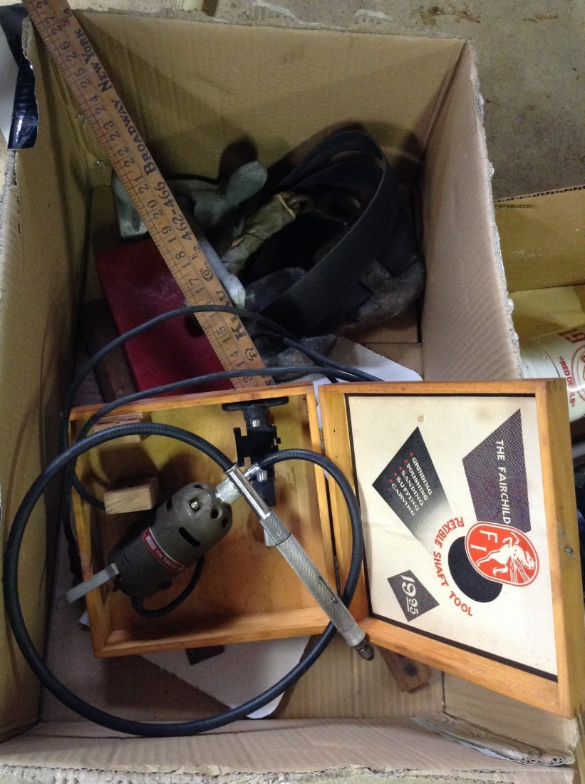 Vintage Farechild Dremmel;  Anchor and gun kit