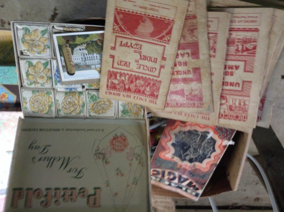 Mother's Day Handkerchief Set, Uncle Ben books; Black