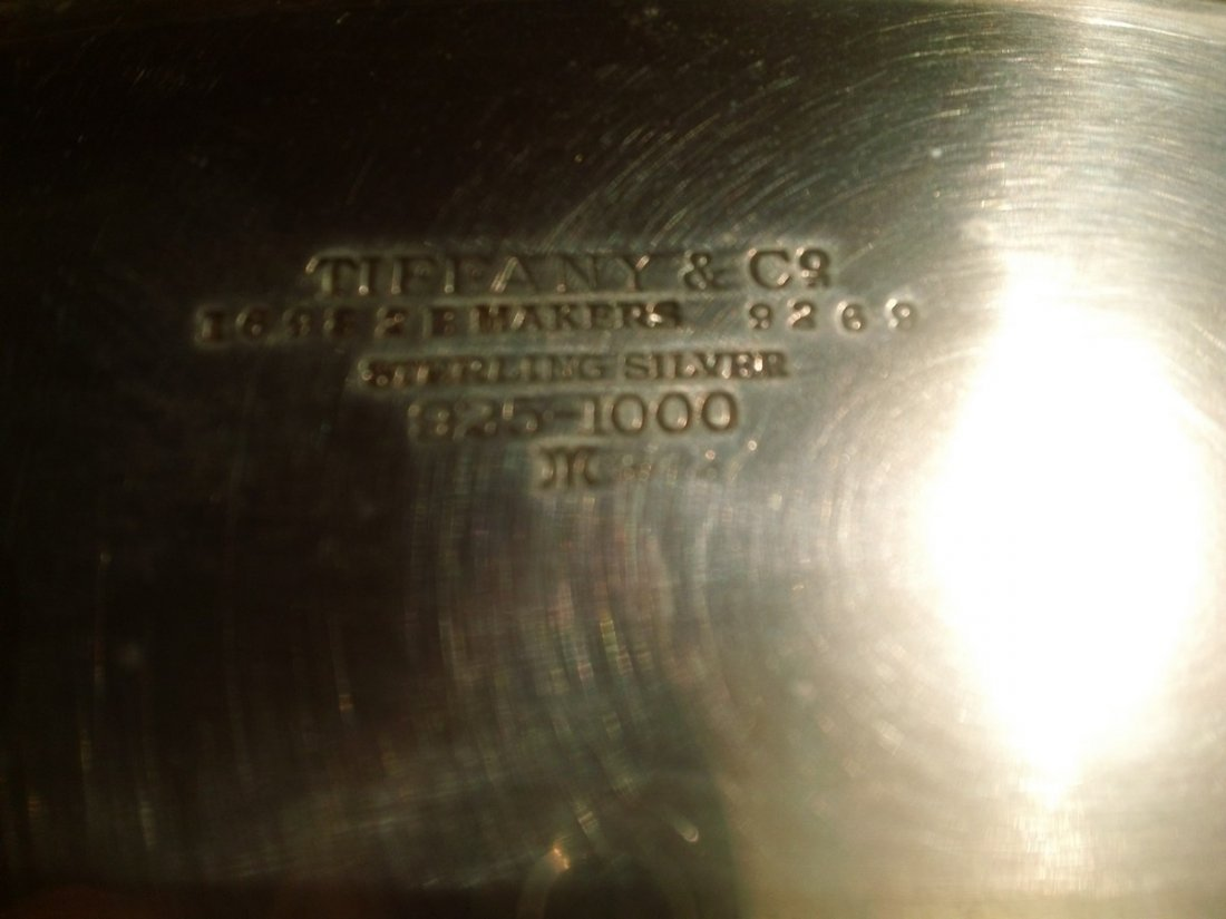 Tiffany and Co. Sterling Silver Candy Dish