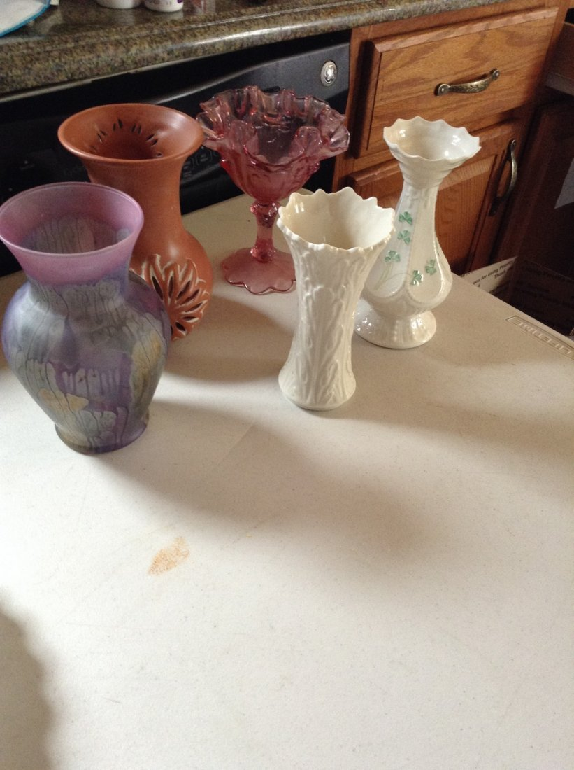 Lenox and other Vases, Total of 5