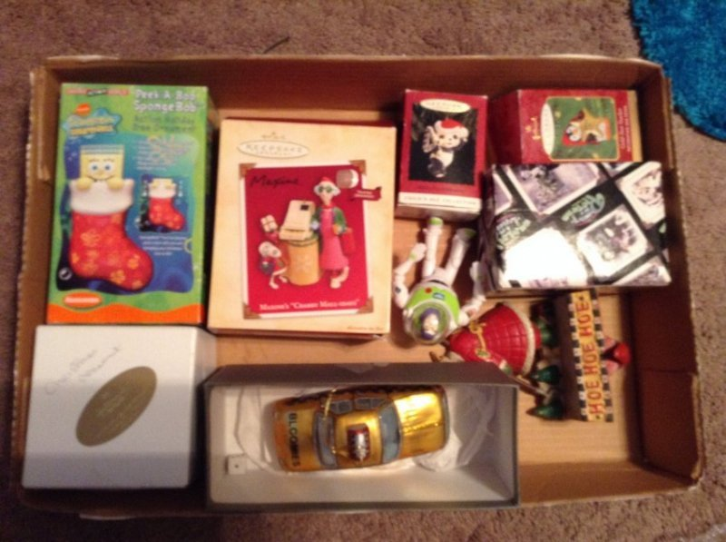 Lot of Hallmark Keepsake Christmas Ornaments and others