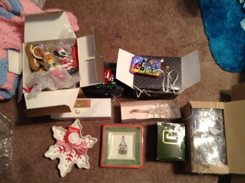 Christopher Radko Ornaments and others