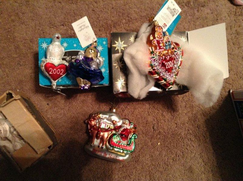 Radko Christmas Ornaments