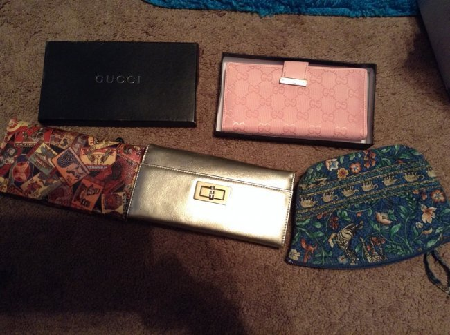 Gucci Wallet and Others