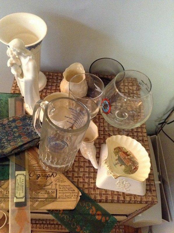Vintage Glassware knick nacks