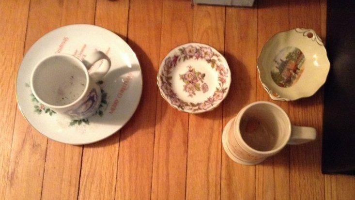 Vintage Glassware knick nacks - 2