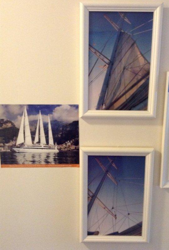 7 Framed Yaht photos