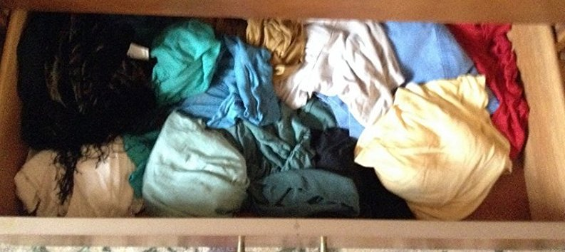 Complete Contents of Dresser including Silk Blouses and