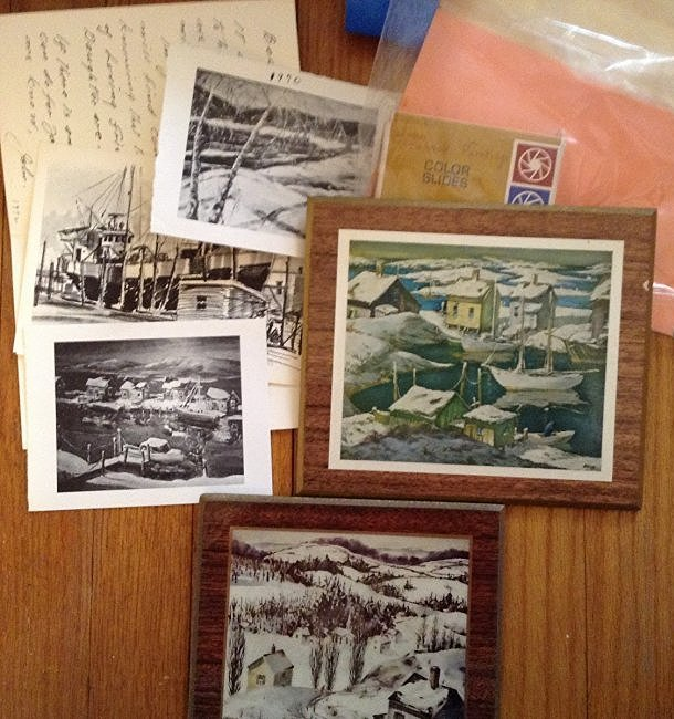 Henry Gasser Mounted Painting and Nautical Scenes