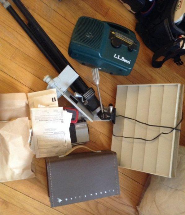 Movie Camera, Radio Camera Stand and More