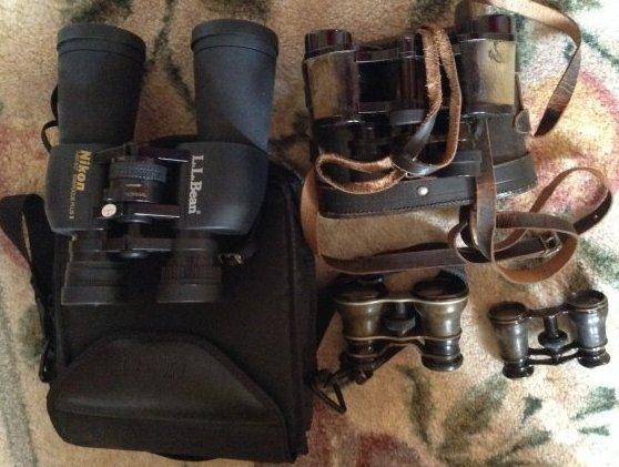 Binoculars Set of Four