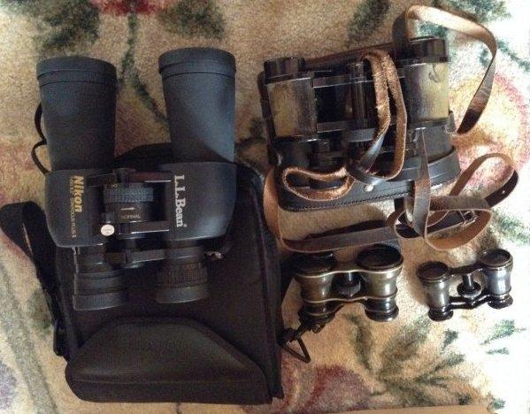 Binoculars Set of Four - 2