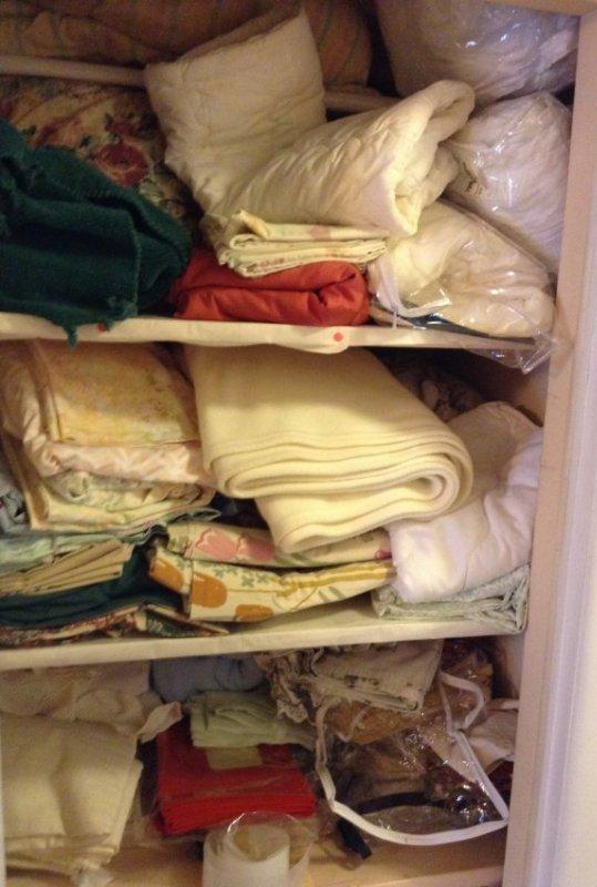 Complete Contents of Hallway Closet