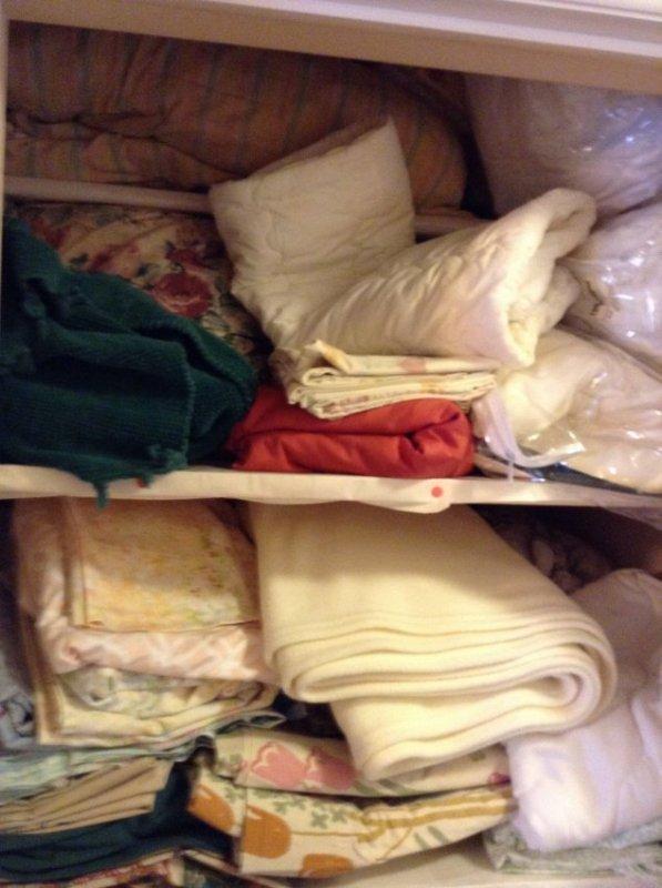 Complete Contents of Hallway Closet - 3