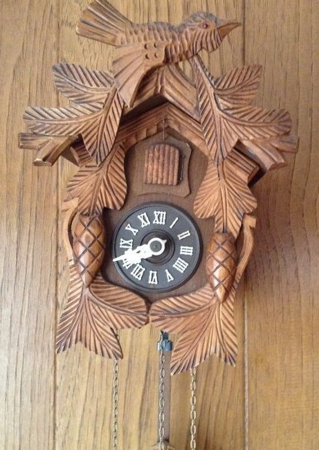 West German Made Koko Clock