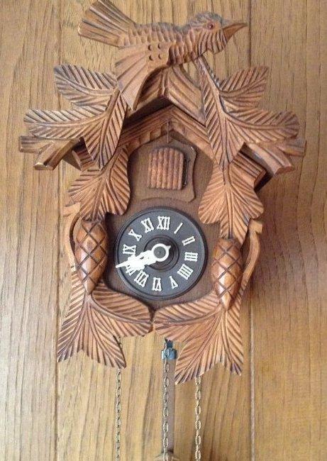 West German Made Koko Clock