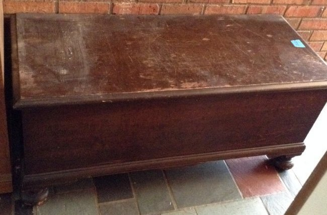 Hope Chest with Contents
