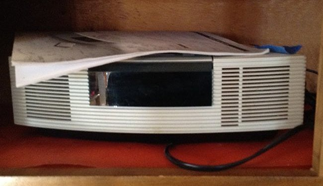 Bose wave Radio C/D player with manuals
