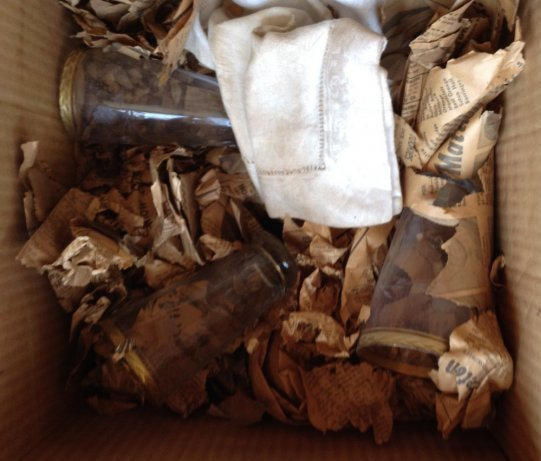 Mid century glassware ashtrays and more - 2