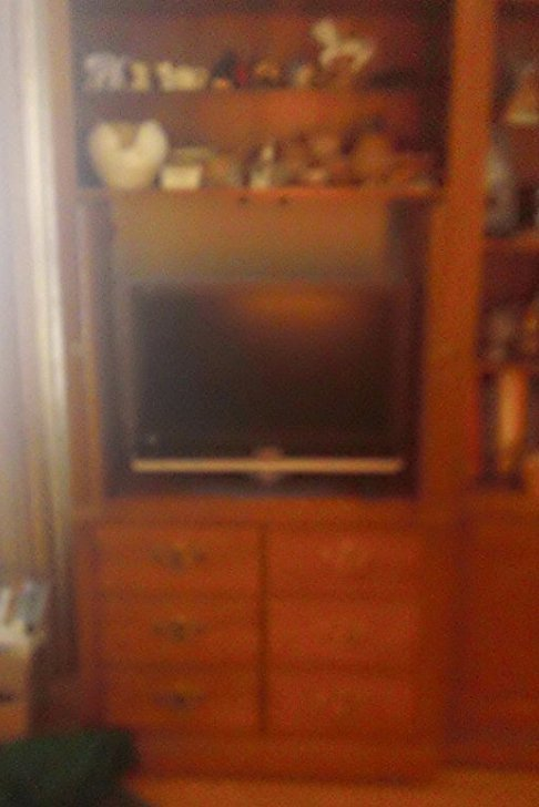 Lighted Cabinet all wood
