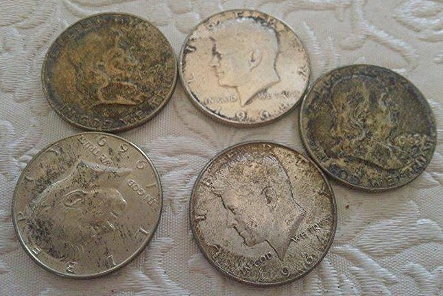 Franklin & Kennedy Silver Half Dollars