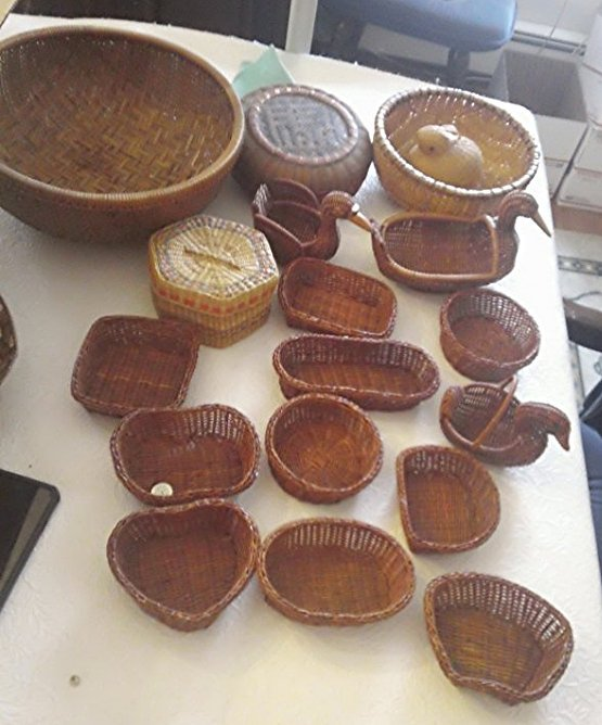 Wicker Basket Lot