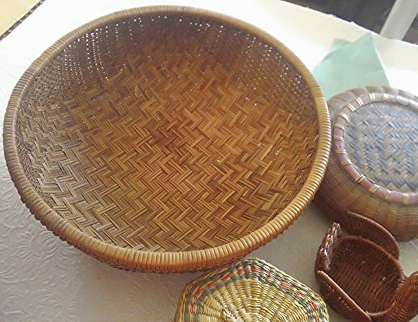 Wicker Basket Lot - 3