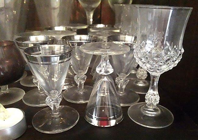 Mid- century glassware & Crystal glasses - 2