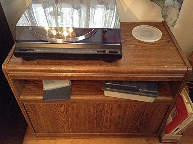 Stereo TV Stand