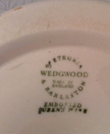 Wedgewood Tiered Dessert plate - 2