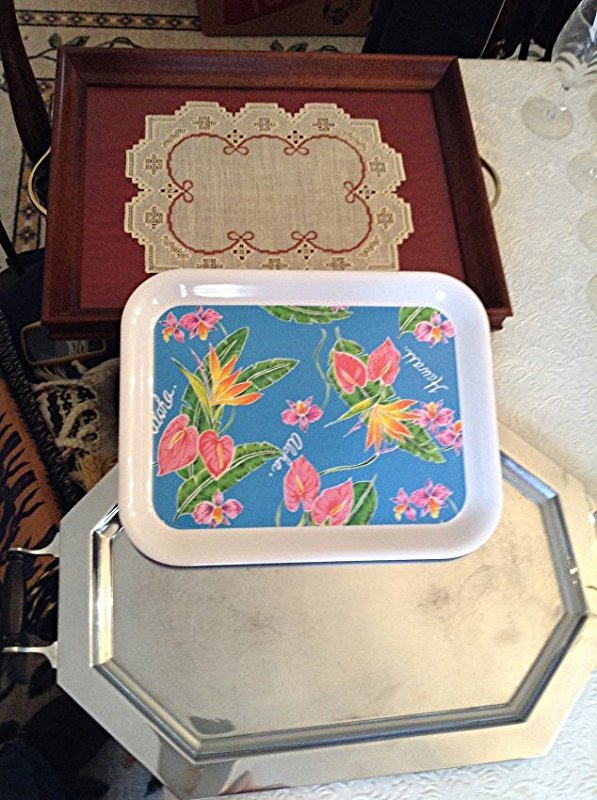 Serving Trays and table runner