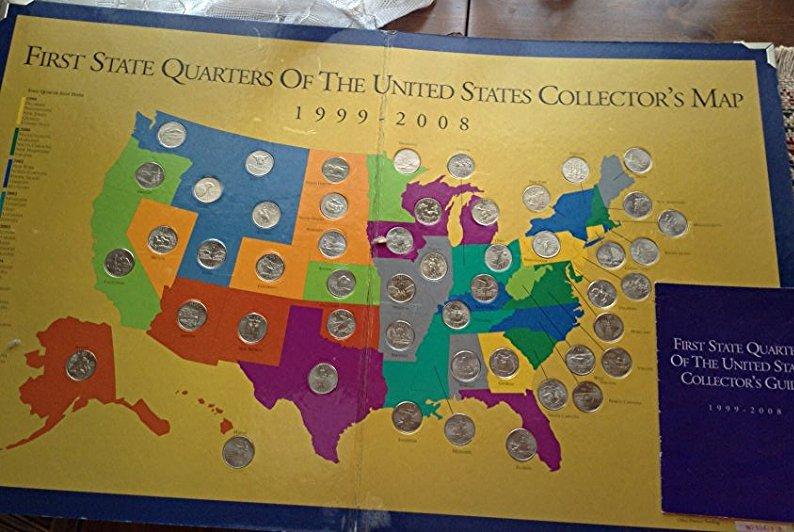 State Quarter sets 99 - 08