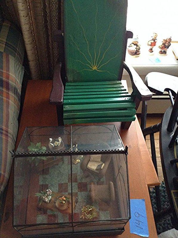 Artist Diarama & Doll chair
