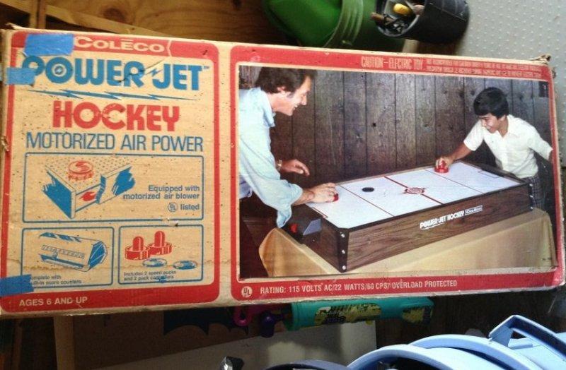 Vintage Coleco Power Jet Hockey